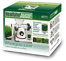 Healthy juicer elektromos búzafűprés