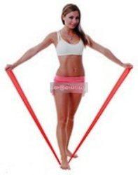 Fit-Band gumiszalag Piros (közepesen erős 150cm)