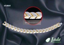 Brillance 3 Orvosi acél mágneses karkötő Jade GYJB3S
