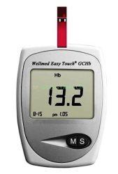 Wellmed EasyTouch GCHb (Hemoglobin -vércukor - koleszterin) mérő