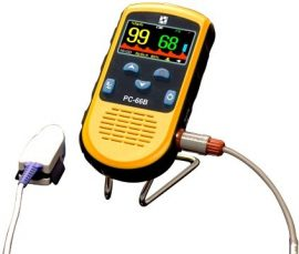 CREATIVE PC-66B Color Oxigénszaturácio mérő (Pulzoximéter)