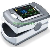 BEURER PO 80 Újjra csíptethető vér oxigénszintmérő-pulzoximeter