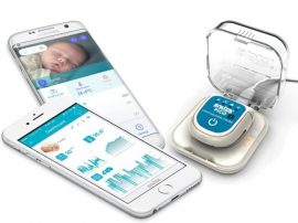 Snuza Pico mobil baba légzésfigyelő készülék