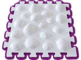 Lúdtalp szőnyeg FITFEET (2db-os) 26 X 26 cm (1 db)