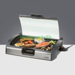 Steba VG200 BBQ grill -szélfogófedéllel