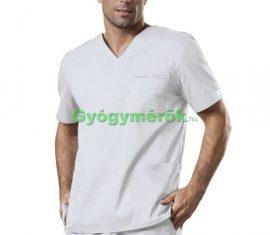 Workwear Stretch, Unisex fehér felső