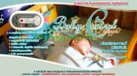 Légzéskimaradás figyelő (Baby Control BC-230)