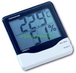 Digitális hőmérő, -páratartalom mérő (305002)