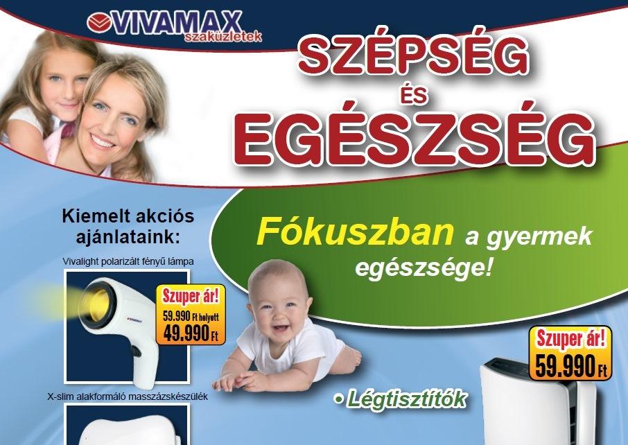 Vivamax akciós újság