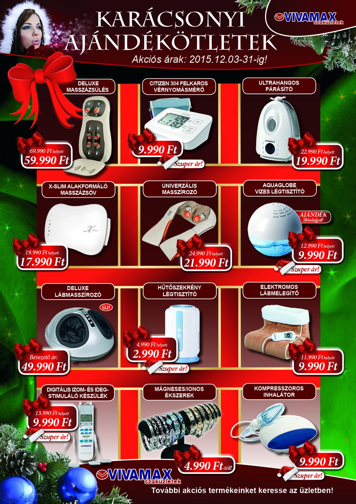 Vivamax karácsonyi plakát